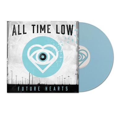 "All Time Low Future Hearts (12"" Light Blue Vinyl)"