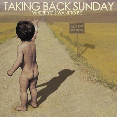 Taking Back Sunday Where You Want To Be (CD)