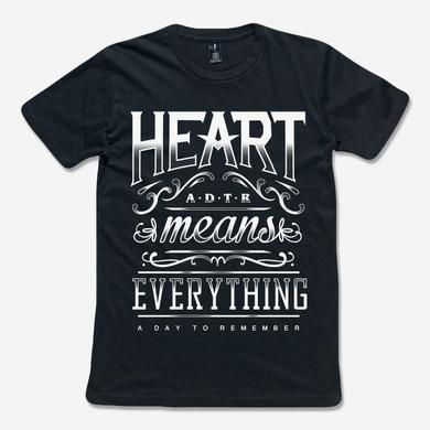 A Day To Remember Heart Means Everything (Black Tee)
