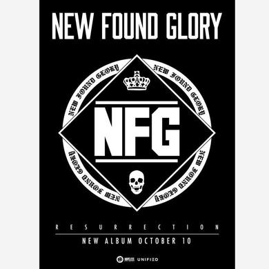 New Found Glory Resurrection (A2 Poster)
