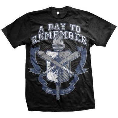 A Day To Remember University (Black Tee)