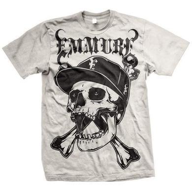Emmure Street Skull (White Tee)