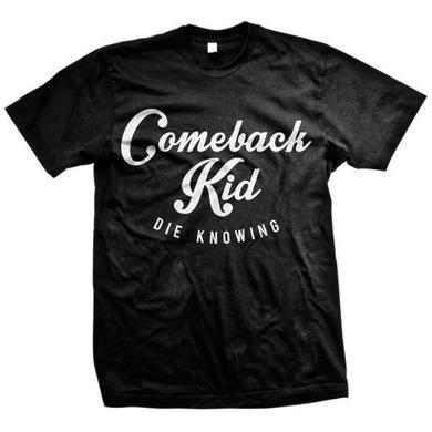 Comeback Kid Script (Black Tee)