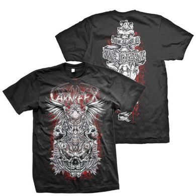 Carnifex Carve Your Eyes (Black Tee)