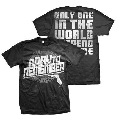 A Day To Remember Florida Hardcore (Black Tee)