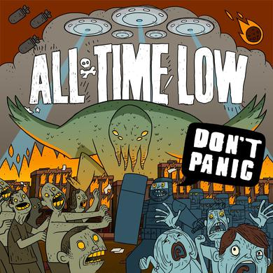 All Time Low Don't Panic (CD)
