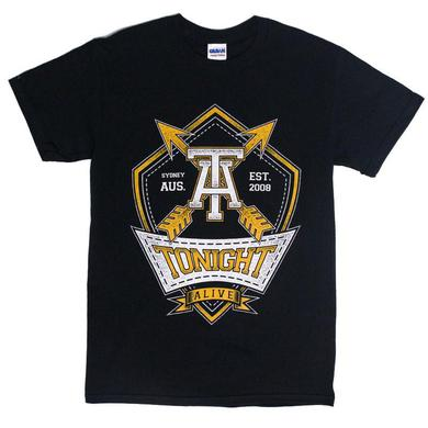 Tonight Alive Arrows Tee (Black)