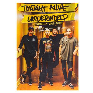 Tonight Alive 2018 Australian Tour Photo Poster (A3)