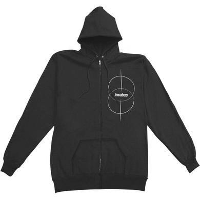 Incubus Circles Zip Up Hoodie (Black)