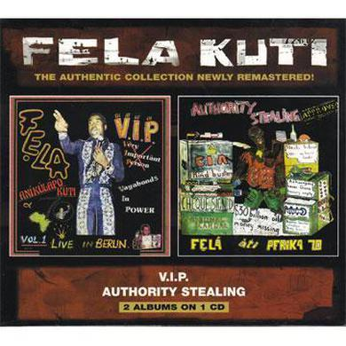 Fela Kuti V.I.P. / Authority Stealing CD