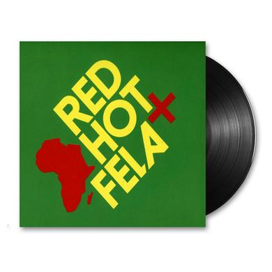 Fela Kuti Red Hot + Fela LP (Vinyl)