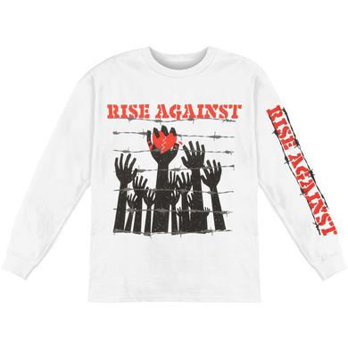 Rise Against Prisoners Longsleeve (White)