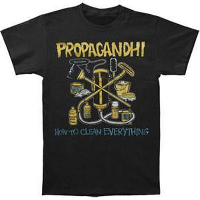Propagandhi How To Clean Everything Tee (Black)