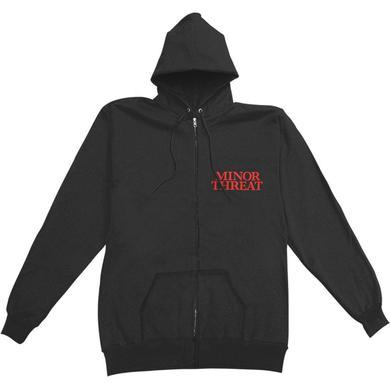 Minor Threat Black Sheep Zip Up Hoodie (Black)