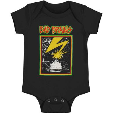 Bad Brains Banned in DC Onesie (Black)