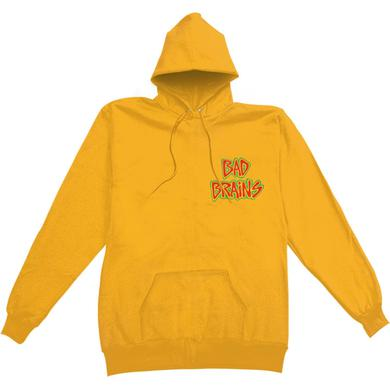 Bad Brains Banned in DC Hoodie (Yellow)