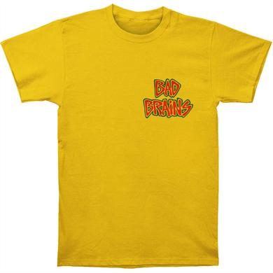 Bad Brains Banned in DC Tee (Yellow)