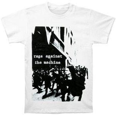 Rage Against The Machine Riot Tee (White)