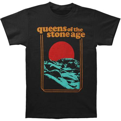 Queens Of The Stone Age Red Sun Tee (Black)