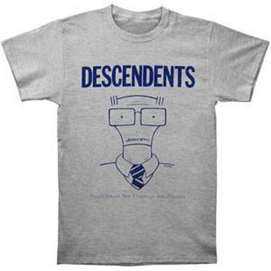 Descendents Thou Shalt Not Commit Adulthood Tee (Grey)