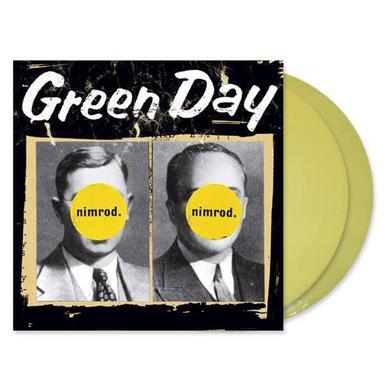 "Green Day Nimrod 2LP 12"" Vinyl (Yellow)"