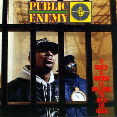 "Public Enemy It Takes A Nation Of Millions To Hold Us Back  (12"" Vinyl LP)"