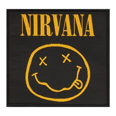 Nirvana Smiley Patch