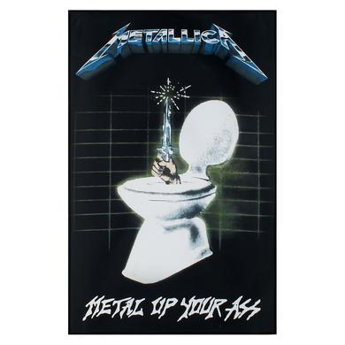 Metallica Metal Up Your Ass Flag