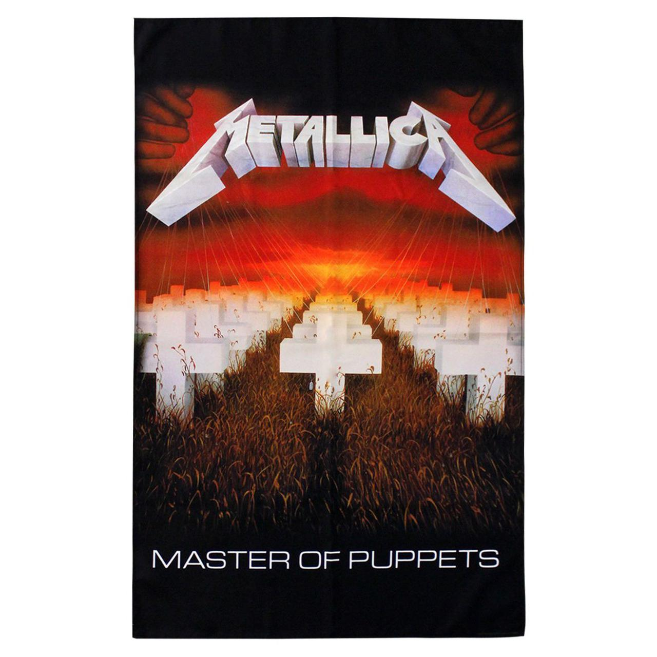 Hardwired to self destruct textile poster flag metallica official