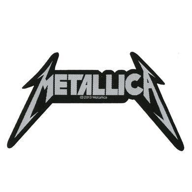 Metallica Shaped Logo Patch