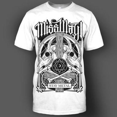 Miss May I Goats (White Tee)