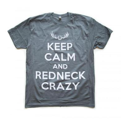 Tyler Farr Men's Keep Calm And Redneck Crazy T-Shirt