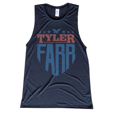 Tyler Farr Ladies Shield Tank