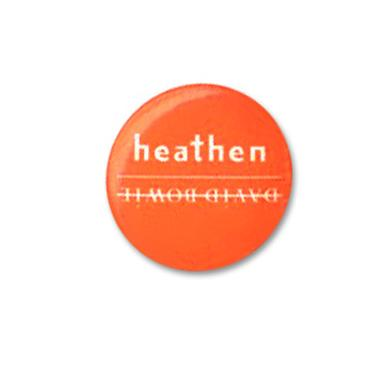David Bowie Heathen Button