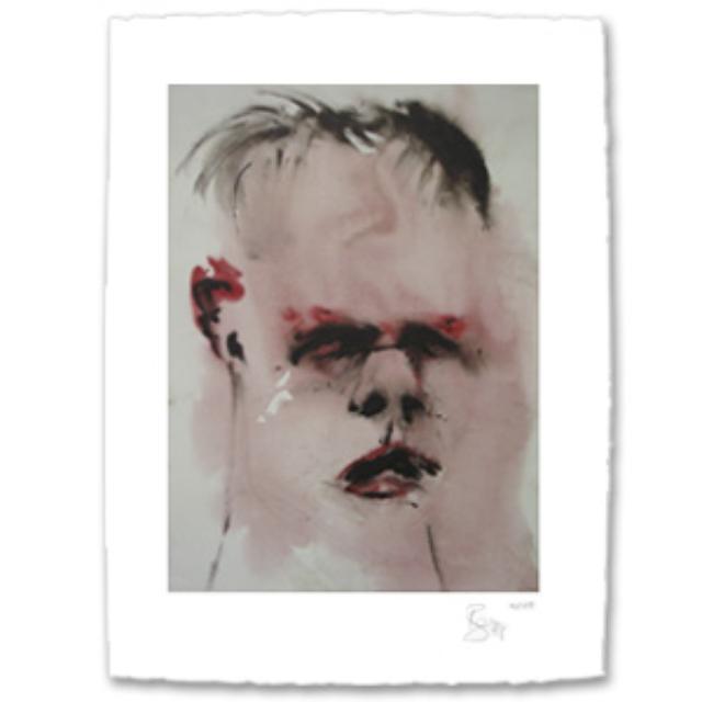 David Bowie Jon Lithograph