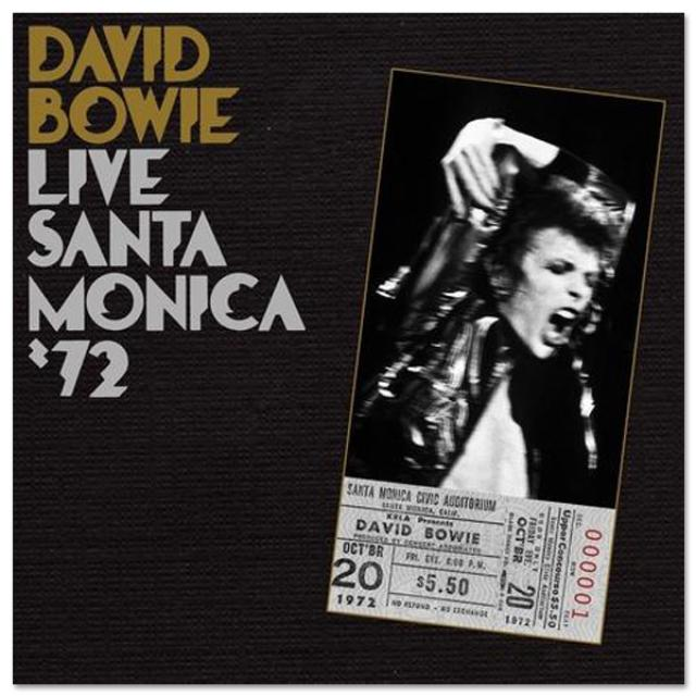David Bowie Live In Santa Monica '72 CD