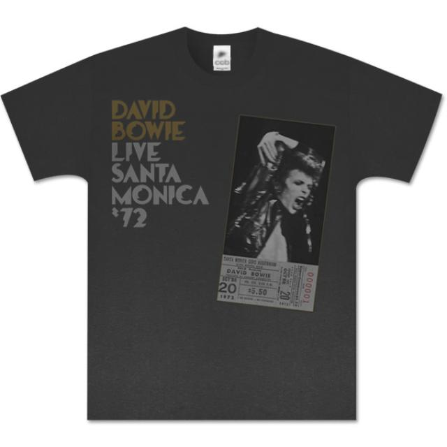 David Bowie Live In Santa Monica '72 T-Shirt