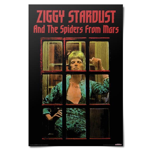 David Bowie Ziggy Stardust Poster