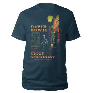 David Bowie 40th Anniversary Ziggy Stardust T-Shirt