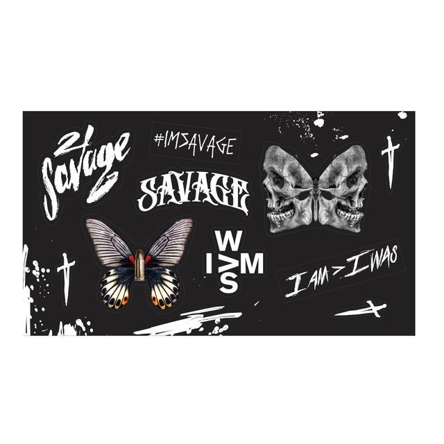 21 Savage I AM > (stickers)