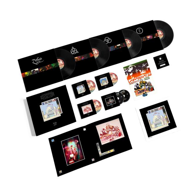 Led Zeppelin The Song Remains The Same (Super Deluxe Box Set)