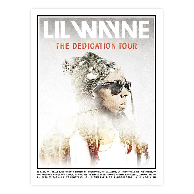 Lil Wayne Dedication Tour Litho