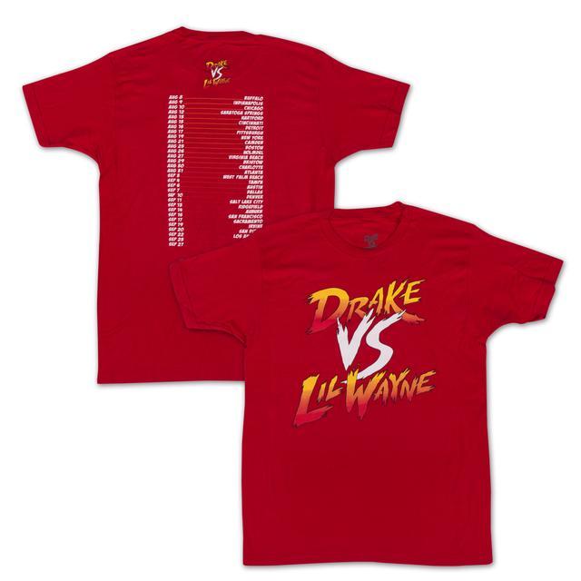 Drake vs. Lil Wayne Dateback T-Shirt