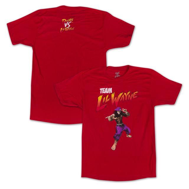 Drake vs. Lil Wayne Team Lil Wayne T-Shirt