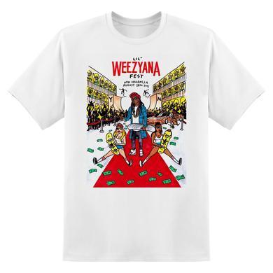 Lil Wayne Lil Weezyana Fest T-Shirt