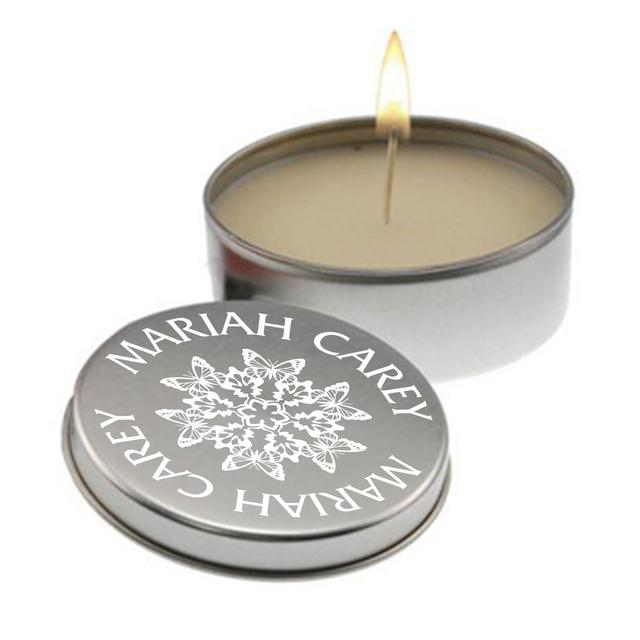 Mariah Carey Snowflake Aromatherapy Candle in Tin