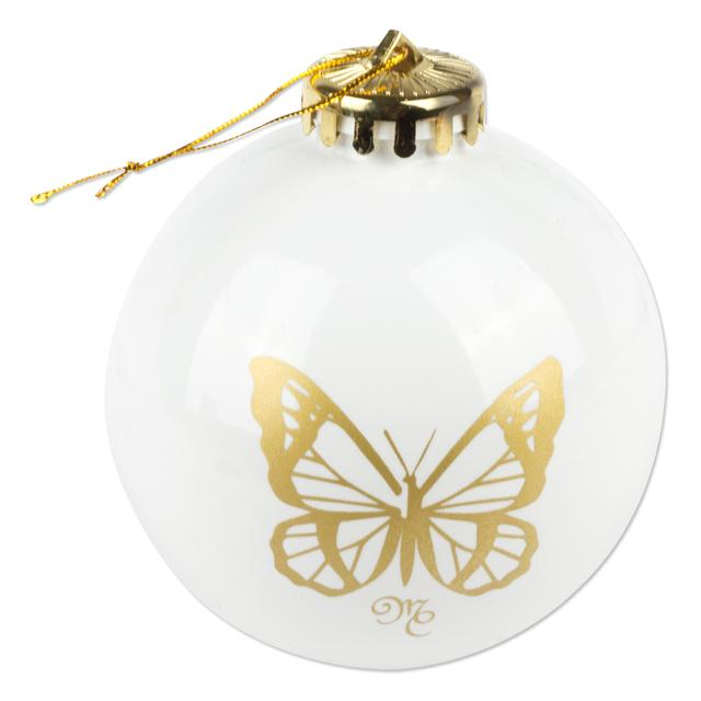 Mariah Carey Butterfly Metal Ornament