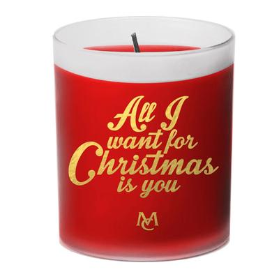 Mariah Carey All I Want For Christmas Is You Candle