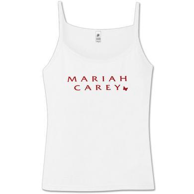 Mariah Carey White Camisole