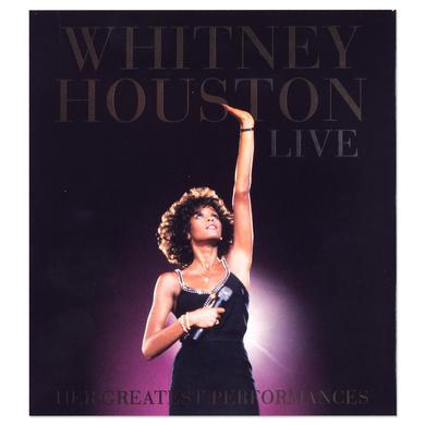 Whitney Houston Live Her Greatest Performances, CD/DVD